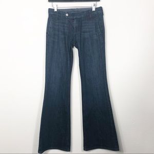 7 for All Mankind Jeans Wide Leg Size 26 (32)